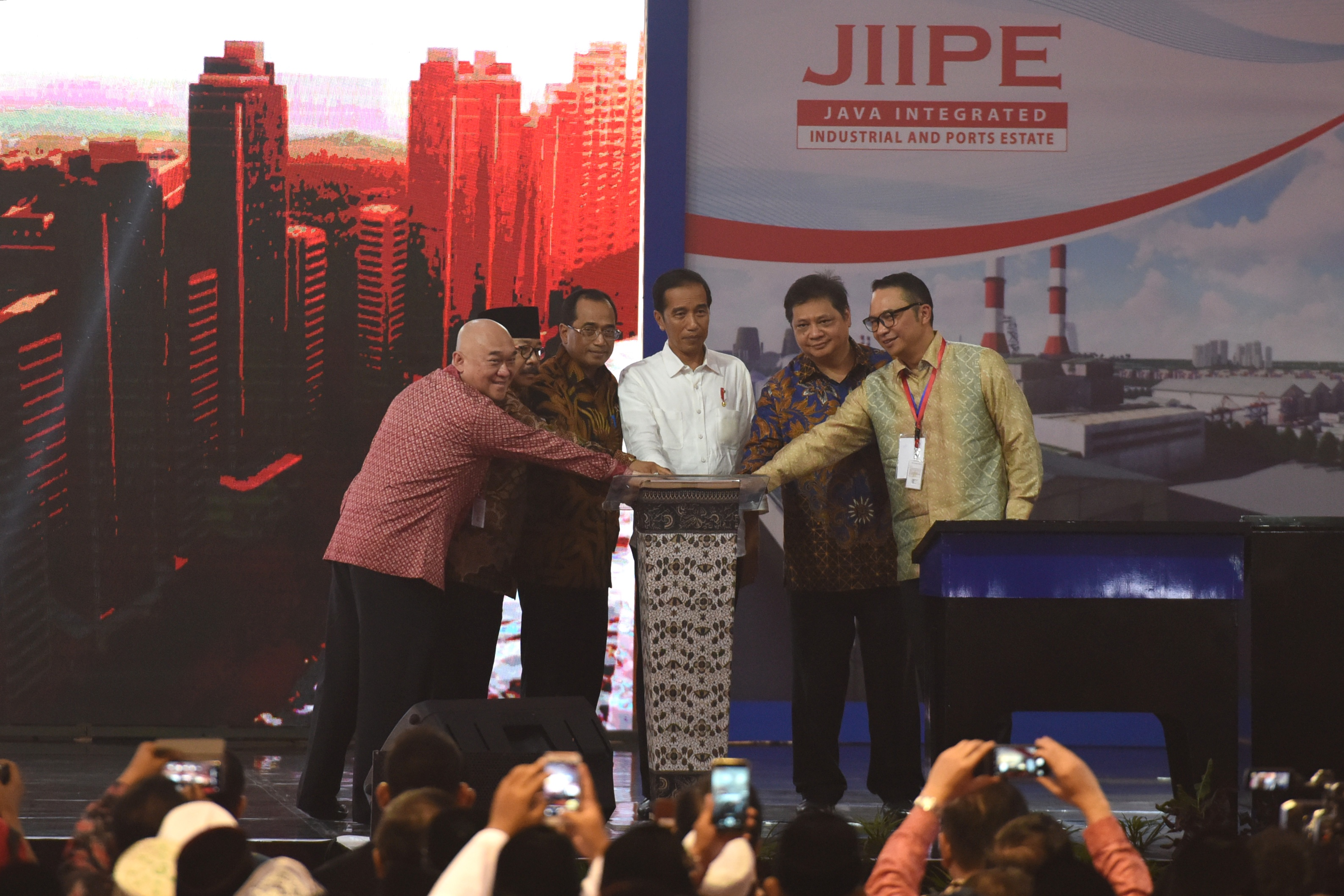 JIIPE Gresik's First Integrated Industrial Area in Indonesia, Officially Opened by Indonesian President Joko Widodo