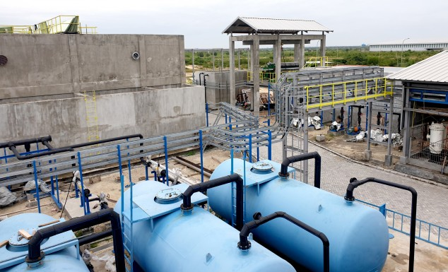 Tahap pertama water treatment plant 100m3 per jam